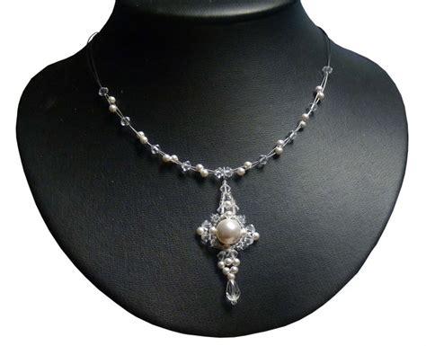 kette zur hochzeit design perlen brautkette hochzeit