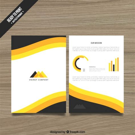 flyer design freepik company flyer template vector free download