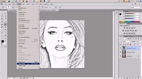 cara membuat montase dengan photoshop cara membuat foto menjadi sketsa dengan photoshop youtube