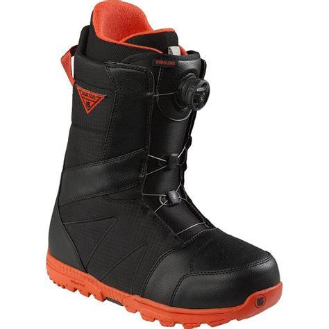 snow board boots bob s sports chalet burton burton highline boa snowboard