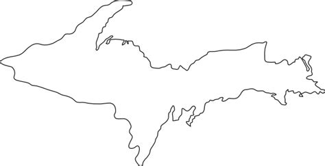 template of michigan michigan map outline new calendar template site