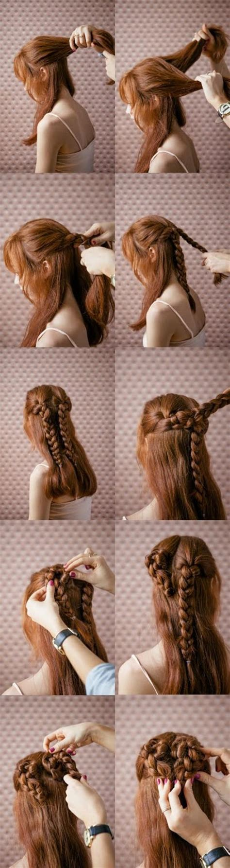 B5 Styles Beautiful Valentines by Simple And Beautiful S Day Hairstyle Tutorial