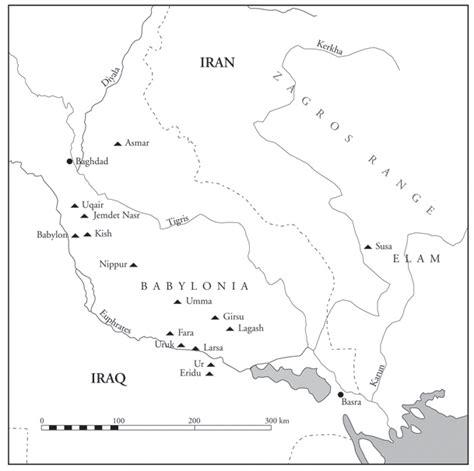 Mesopotamia Map Coloring Page | map of mesopotamia colouring pages