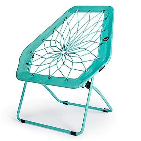 bunjo bungee chair bed bath and beyond bunjo 174 oversized bungee chair in menthol