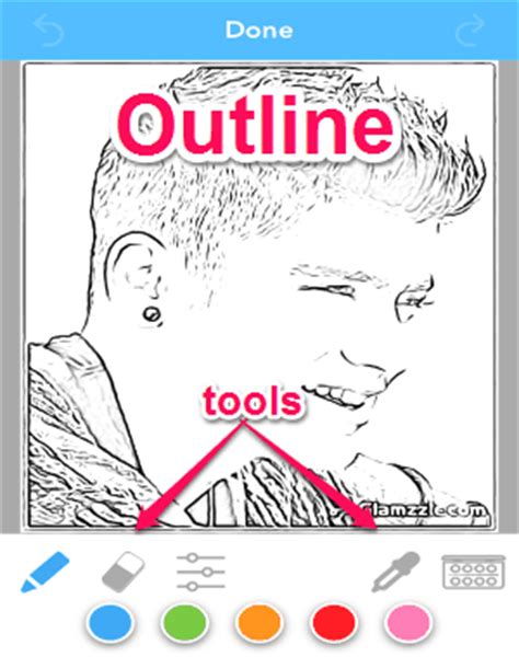 how to turn a picture into a coloring page in word convert your photos into coloring pages iphone i love