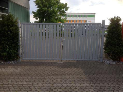 Gartentor Edelstahl Modern by Hoftor Und Gartentor