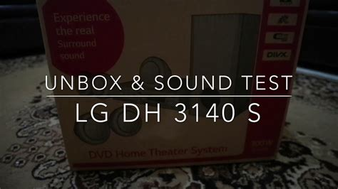 Home Theater Lg Paling Murah home theatre murah lg dh3140s unboxing sound test