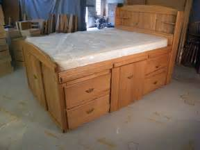 pdf diy size bed plans with drawers garage