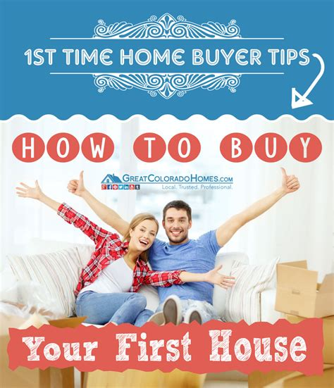 steps on buying a house first time how to buy your first house