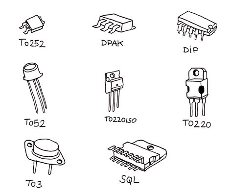 basic types of integrated circuit packages index of files ressources electronique images