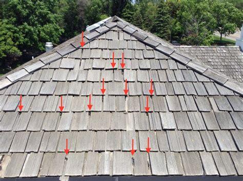 warning signs    cedar shake roof repair