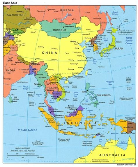 map of modern asia free state high school support modern world history