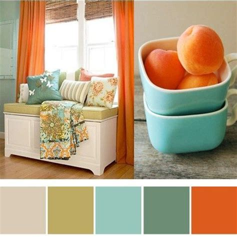 orange and turquoise i love thisssss pinterest