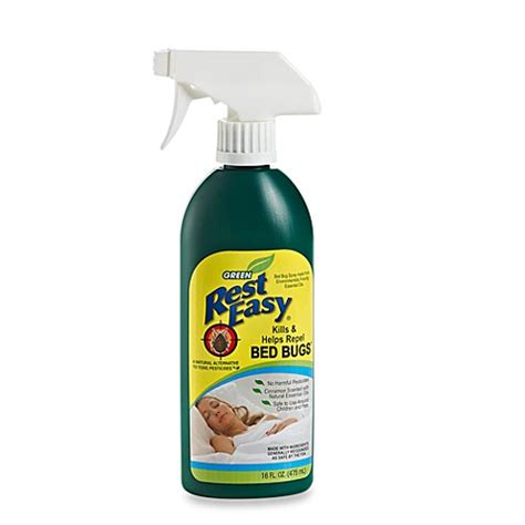 bed bugs repellent rest easy bed bug repellent spray www bedbathandbeyond com