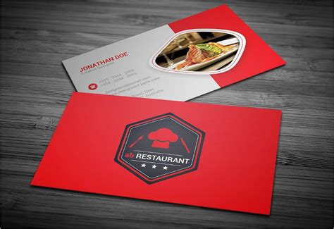 Catering Business Card Template Psd by 45 Restaurant Business Cards Templates Psd Designs