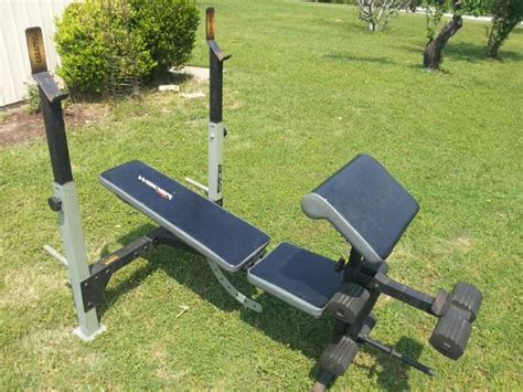 Weider 235 Weight Bench Espotted