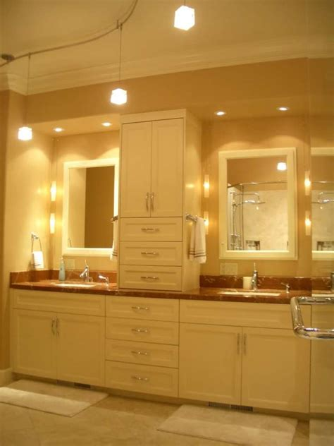 the best selection of bathroom lighting actual home