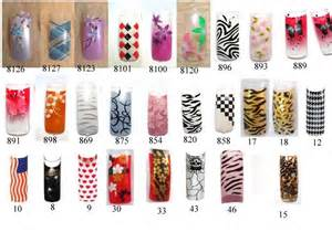 french nail art tips pink and purple dotted nail design