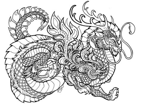 vietnamese dragon coloring page dragon coloring pages for adults printable places to