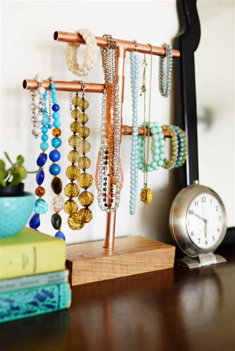 how to make jewelry displays 6 unique diy jewelry displays diy thought