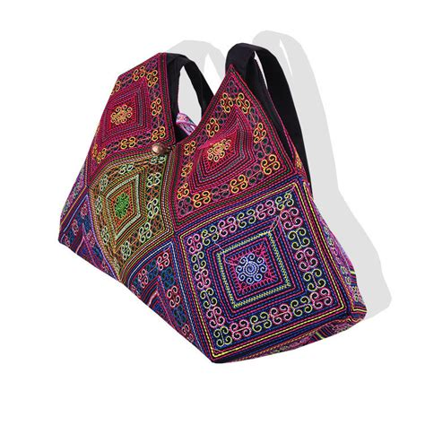 Handmade Embroidered Bags - new national trend embroidery rice dumplings shoulder bag