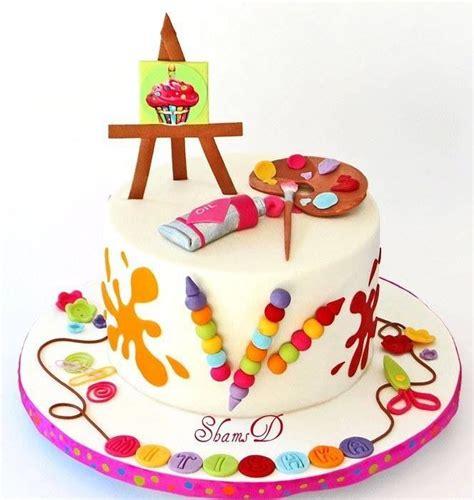 cake painting painter cake cake deco crafts n craft