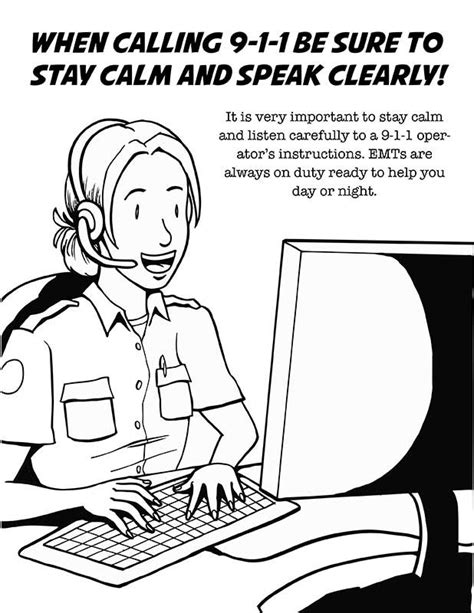 Paramedic Coloring Pages ems coloring book coloring pages