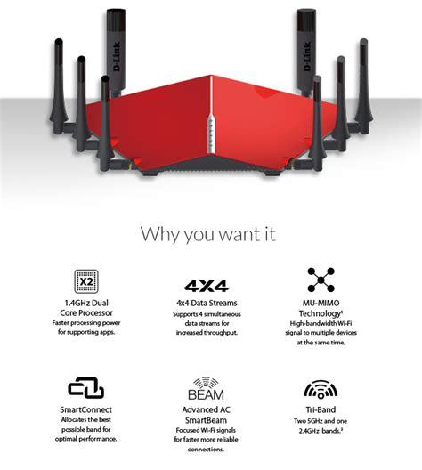 Dlink Dir895l Ac5300 Mumimo Ultra Triband Wifi Router T1310 d link dir 895l ac5300 mu mimo ultra wi fi router