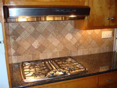 diagonal back splash design kitchen stove top