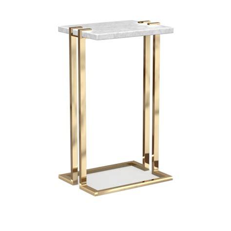 marble brass side table marble brass side table williams sonoma
