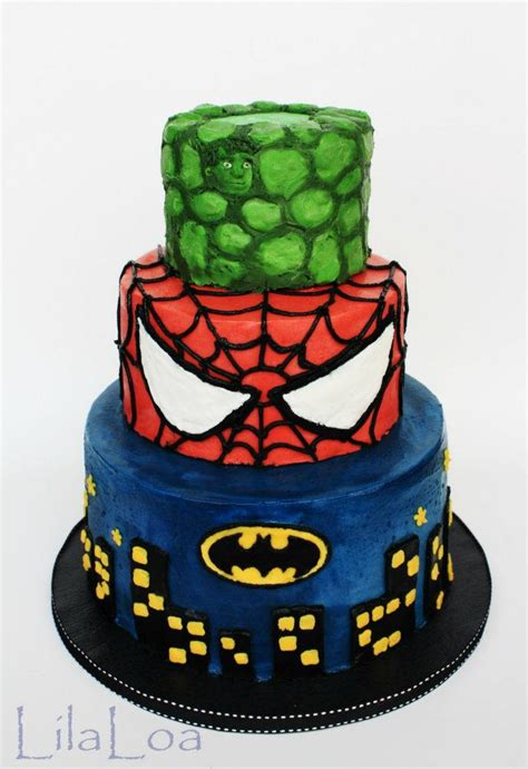 themed cakes birthday cakes wedding cakes super heros themed cakes
