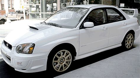 2005 subaru impreza wrx sti review roadshow
