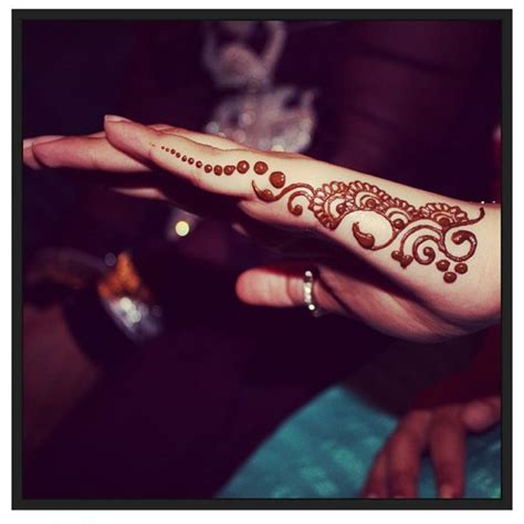 side of hand tattoo side of henna design henna on the