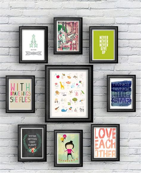 free printable playroom wall art 82 best salon style walls images on pinterest elle decor