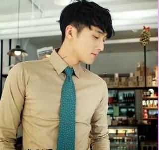 korean style model gaya rambut pria korea