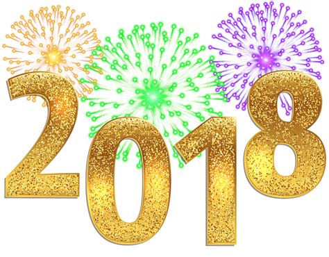 new year png free happy new year 2018 png transparent images logo cool