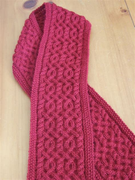 pattern knitting scarf cable beautiful cable knit scarf and lots of lovely scarf