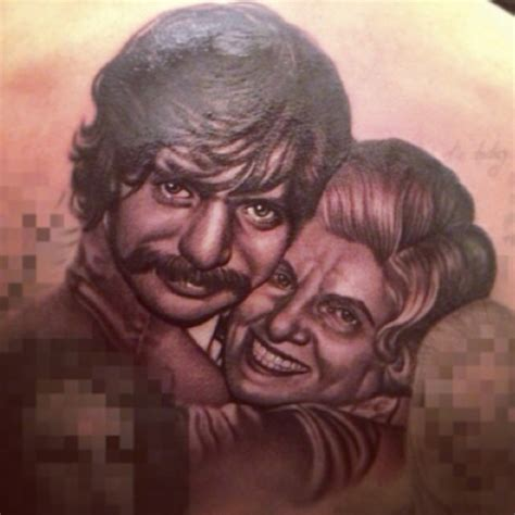 drake back tattoo gets grandmother on his back photos