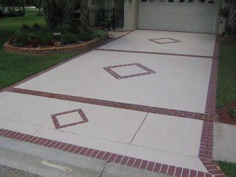 concrete driveway layout design concrete driveways spanish fort al photo gallery