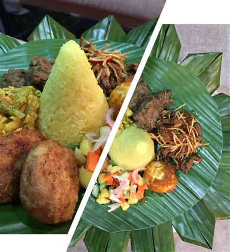 kind delicious festive tumpeng nasi kuning