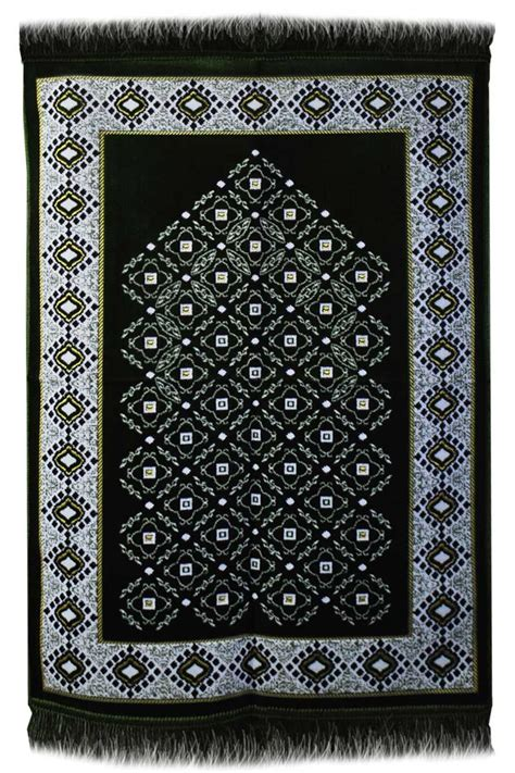 janamaz prayer rug aydin janamaz plush velvet muslim prayer rug from turkey rs192
