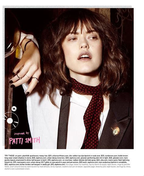 patti smith hairstyle girl power nylon channels some of music s most iconic