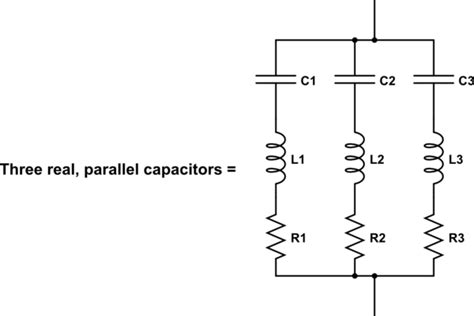decoupling capacitor in series quot two bypass decoupling capacitors quot rule electrical engineering stack exchange