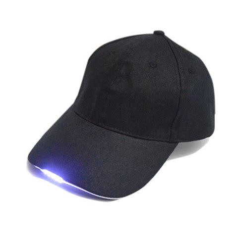 hat with led lights 5 led baseball cap lights adjustable strap hat fishing