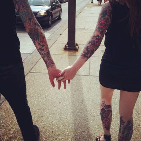 hot tattoo couples image 698190 on favim