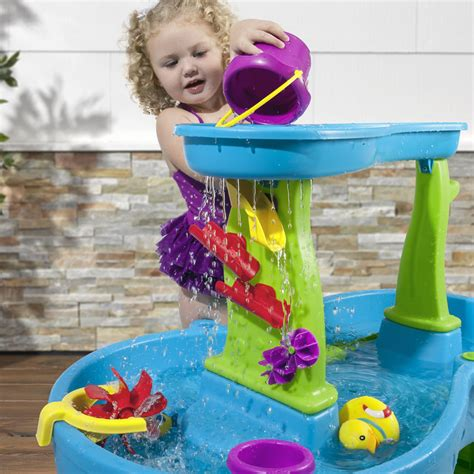 2 showers water table showers splash pond water table sand water