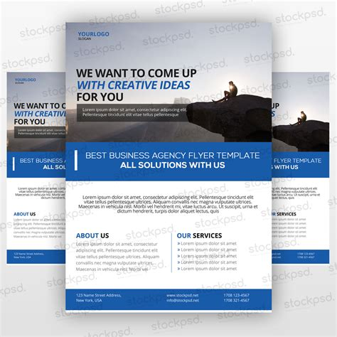 free business flyer 04 flyer template psd flyershitter com
