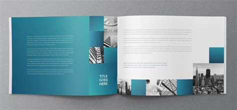 25 really beautiful brochure designs templates for