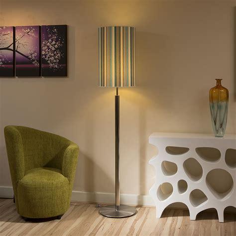 standard l shades modern designer standard floor l ls large turquoise stripe