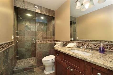 Earth Tone Bathroom Designs 40 Luxurious Master Bathrooms Most With Bathtubs